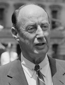 Adlai Stevenson (1900 - 1965) American Politician and Ambassador to the United Nations