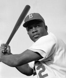 Jackie Robinson (1919 - 1972) American Baseball Player