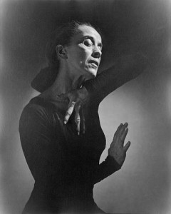 Martha Graham (1894 - 1991) American Dancer and Choreographer