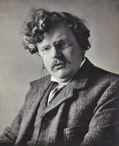 G. K. Chesterton (1874 - 1936) English Writer and Philosopher