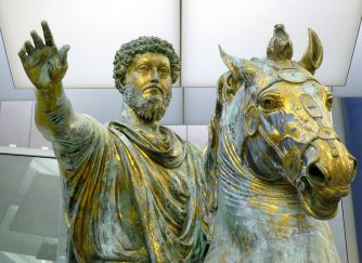 Marcus Aurelius (121 - 180) Stoic Philosopher and Roman Emperor