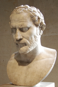Demosthenes (384 - 322 BC) Ancient Greek Orator and Statesman