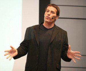 Tony Robbins - American Motivational Speaker and Author