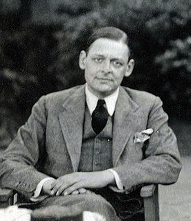 Thomas Stearns Eliot (188 - 1965) British American Poet, Essayist and Social Critic