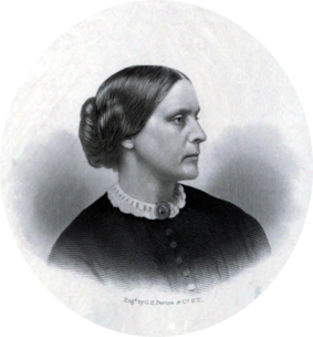 Susan B. Anthony (1820 - 1906) American Social Reformer and Feminist