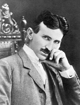 Nikola Tesla (1856 - 1943) Serbian-American Physicist, Engineer and Futurist